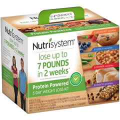 nutrisystem 5 day weight loss kit